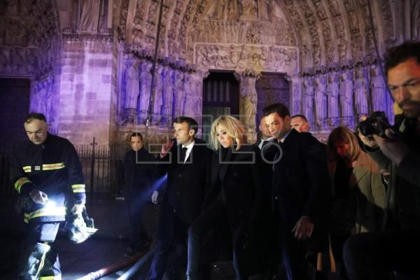 World leaders express shock and sympathy over Notre-Dame blaze