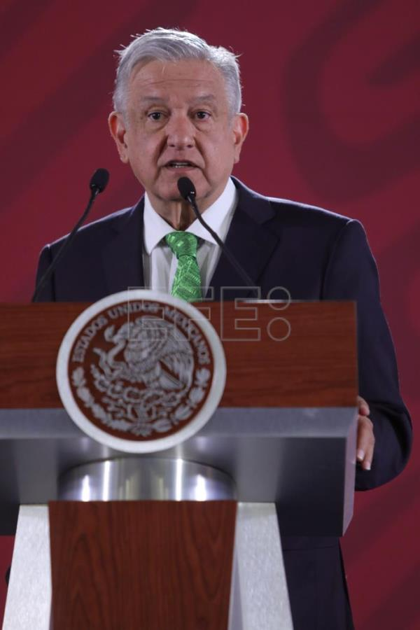 President Andres Manuel Lopez Obrador daily press conference