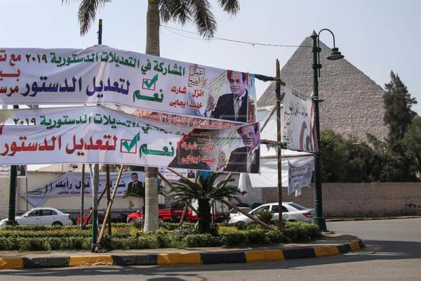 Egyptians abroad cast ballots in constitution reform referendum