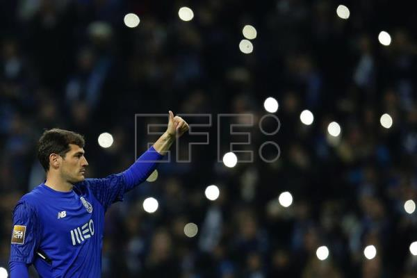 O guarda-redes do Porto, Iker Casillas. EFE/Arquivo