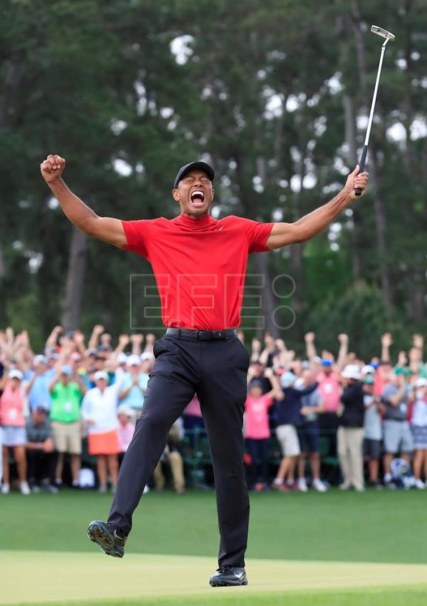 Tiger Woods makes history once again at Augusta Masters