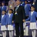 Photo provided by WWF showing Kazakh President Nursultan Nazarbayev (C), during the Expo Astana 2017 closing ceremony held at the Astana Congress Center, in Astana, Kazakhstan on Sept. 10, 2017. EPA-EFE/WWF/Garkusha Vitaly