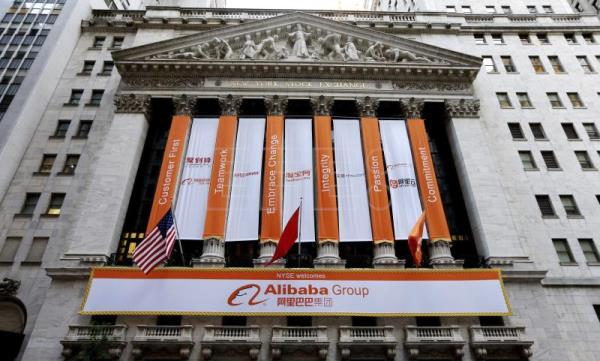 China's Alibaba hits 5-year NYSE milestone unruffled by trade war