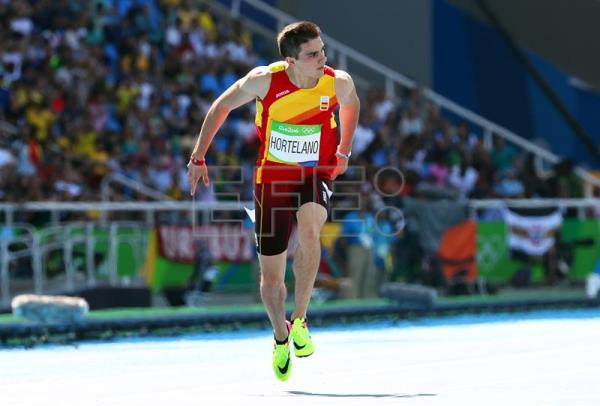 Bruno Hortelano Of Spain Competes During The Men S 200m Heats Rio 2017 Olympic Games