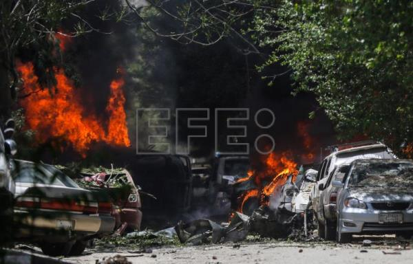 Taliban attack targets US-financed aid group in Kabul, at least 9 injured