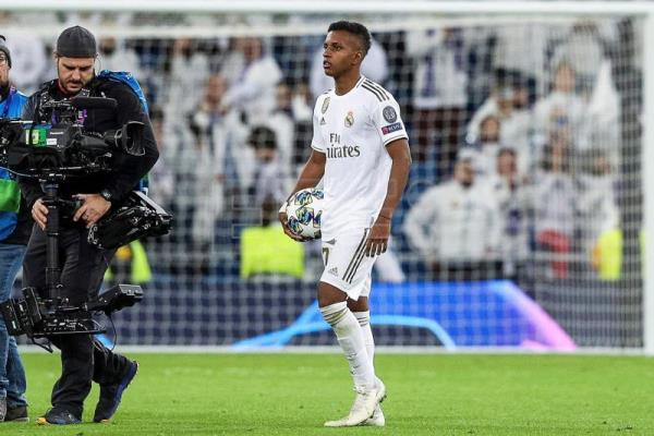 Rodrygo leads Real Madrid 6-0 over Galatasaray