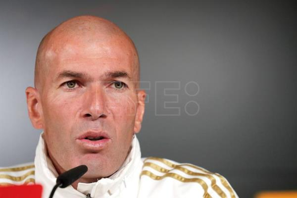 Press conference of Zidane