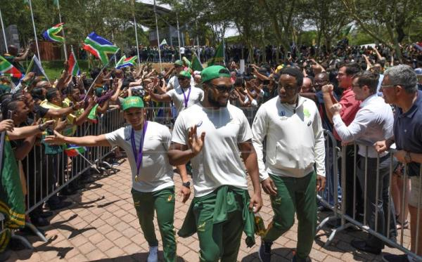 Springboks embark on victory tour