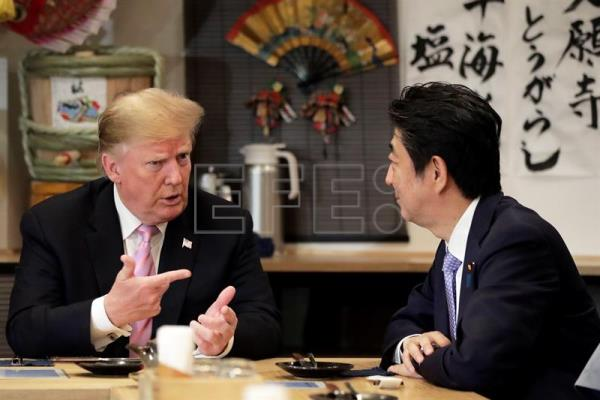US President Donald Trump visits Japan