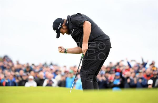 Lowry wins his maiden Open Championship title