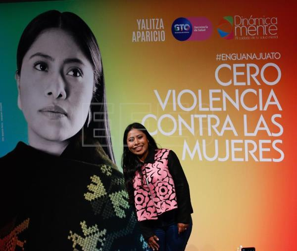 """Roma"" star launches campaign against gender-based violence in Mexico"