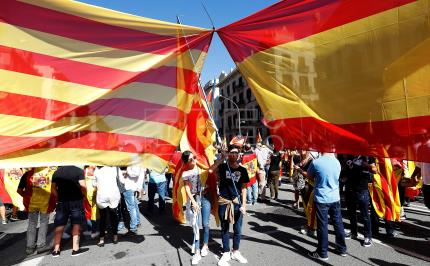 Territorial crisis in Catalonia marks Spain's political landscape