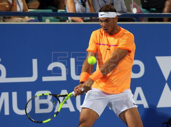 Nadal claims spot in final of Abu Dhabi exhibition event