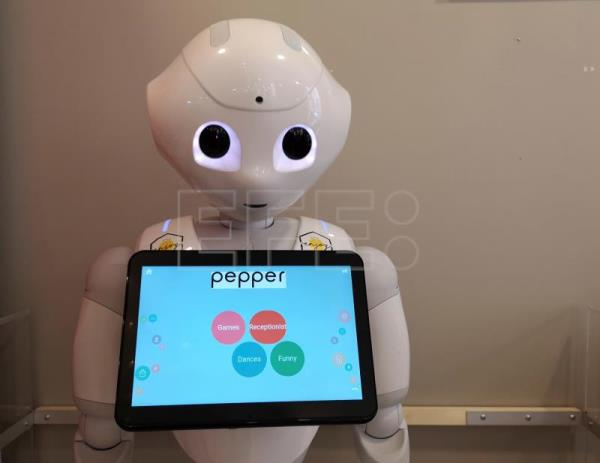 Robot waiters? In one Budapest cafe androids are serving the orders