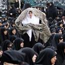 Iranian women attend a mourning ceremony commemorating the death of Fatima, the daughter of Islam's Prophet Muhammad, in Tehran, Iran, on Mar. 2, 2017. EPA/ABEDIN TAHERKENAREH
