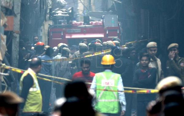At least 42 killed, 64 injured in India factory fire