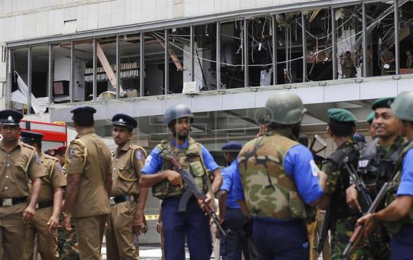Multiple blasts in Sri Lanka on Easter Sunday