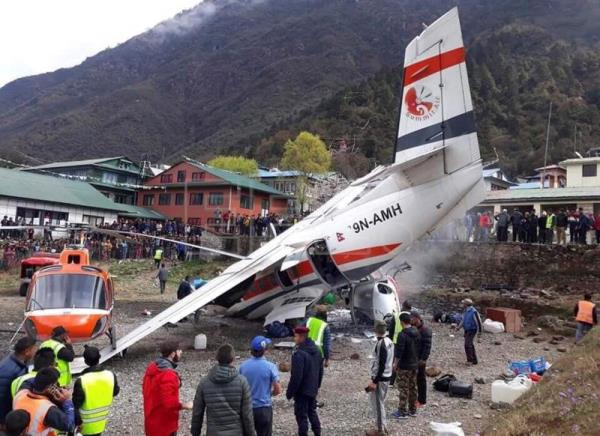 At least three killed, another three injured in plane crash in Nepal
