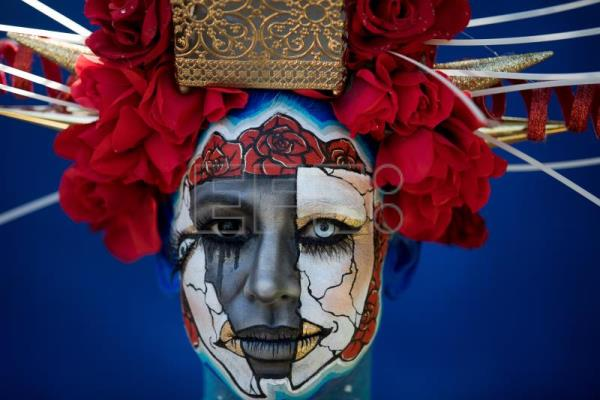International Artists Descend On Austria For Colorful Body Painting Festival Entertainment English Edition Agencia Efe