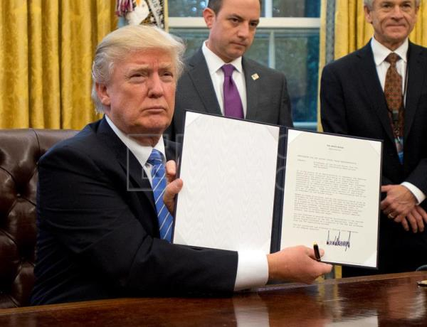 the controversial decision of donald trump to repeal the trans pacific partnership agreement Us president donald trump labour insists decision which has since been renamed the comprehensive and progressive agreement for trans-pacific partnership.