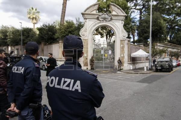 Human remains discovered in the Vatican embassy in Rome