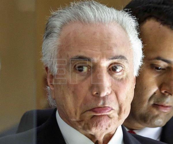 Brazilian Supreme Court authorizes lifting of Temer's bank secrecy