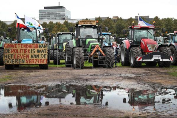 Image result for holland protest farmers
