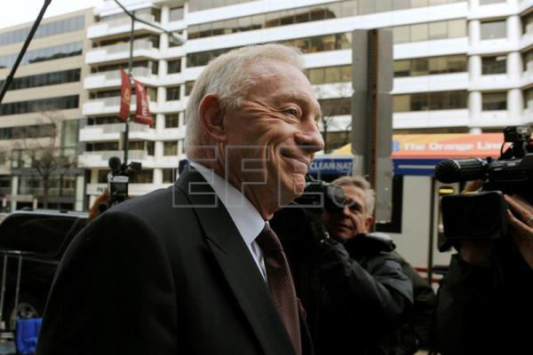 Jerry Jones, dueño de los Cowboys de Dallas. EFE/Archivo