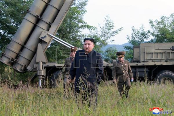 North Korea says it tested a super-large multiple rocket launcher
