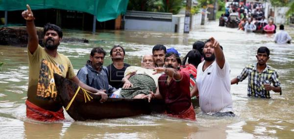 Heavy rains leave 324 dead in southern India