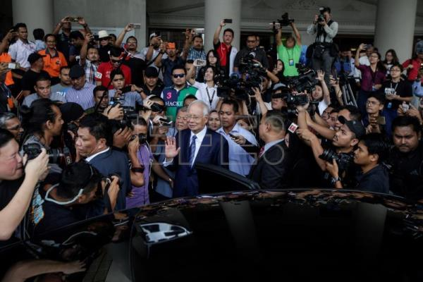 Former Malaysian PM Najib to go on trial over 1MDB corruption charges