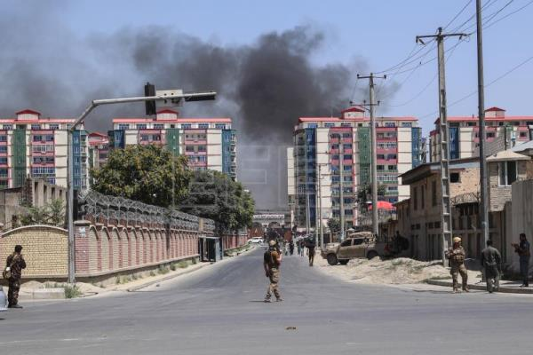 Kabul bombing leaves at least 11 dead, 65 wounded as gunmen storm building