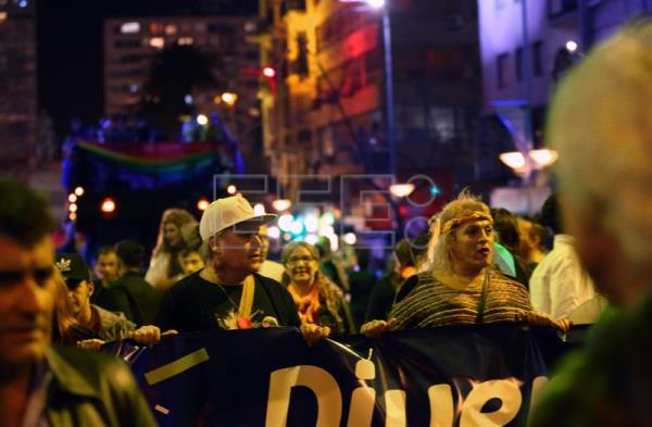 Thousands march in Uruguay for diversity, demand more rights for trans people