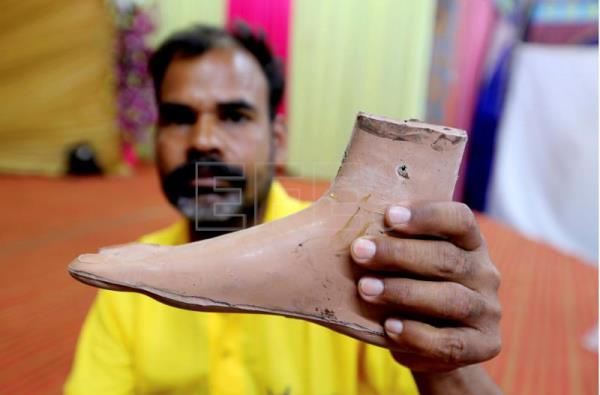 Image result for prosthetic feet in india