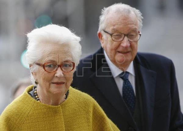 Former Belgian king faces daily fine for paternity test refusal