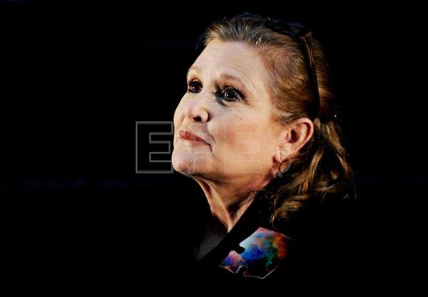 (FILE) US actress Carrie Fisher at the Supanova Pop Culture Expo at Homebush in Sydney, Australia, 23 June 2013. EPA/TRACEY NEARMY/AUSTRALIA AND NEW ZEALAND OUT