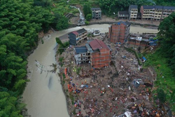 Typhoon Lekima leaves 32 dead and 5 million affected in China