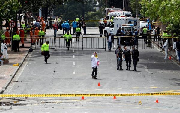 ELN rebels claim responsibility for Bogota bomb attack that killed cop