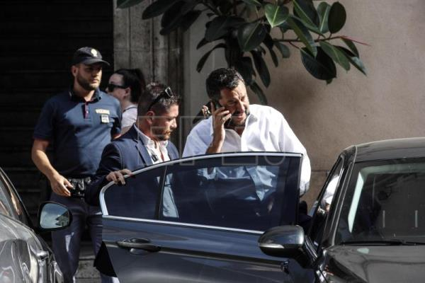 Italy's Salvini says governing coalition is dead