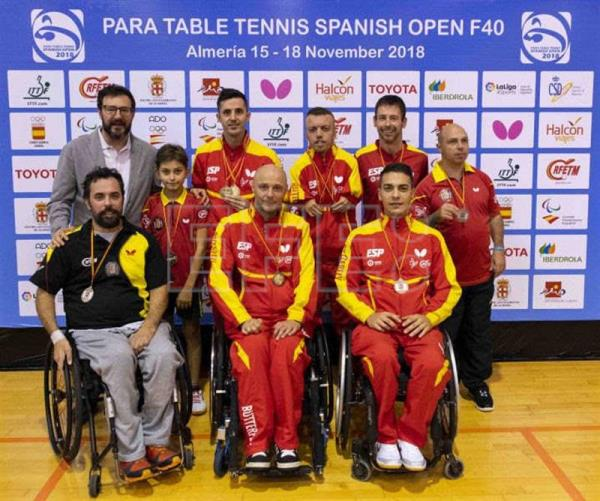 medallas para table tennis