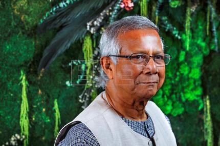 Bangladeshi Nobel laureate Yunus advocates female economic emancipation