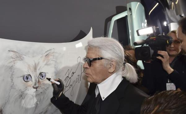Will Karl Lagerfelds Cat Inherit The Iconic Designers Fortune