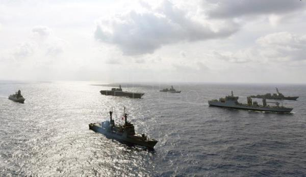 Philippines, US, Japan, India carry out joint navy drills in South China Sea