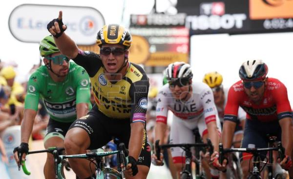 Groenwegen takes stage 7, Ciccone retains yellow jersey