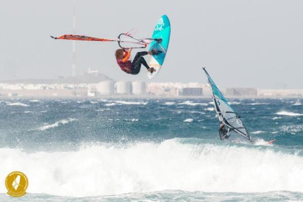 Daida Ruano se impone en la Eliminatoria Simple del Gran Canaria Wind and Waves Festival