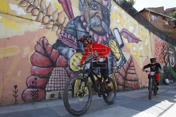 Colombia Achieves Guinness Record For Longest Urban Downhill Bike