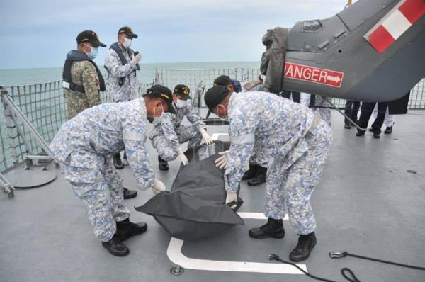Human remains found in US warship that collided with oil