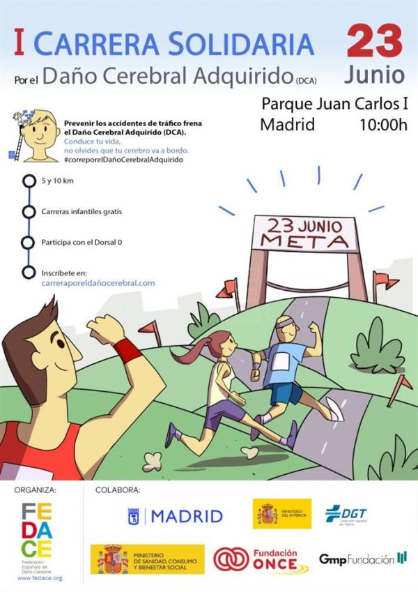 Carrera daño cerebral Madrid
