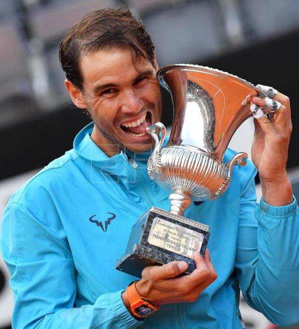 Nadal Claims 34th Masters Title In Rome With Statement Win Over Djokovic Sports English Edition Agencia Efe