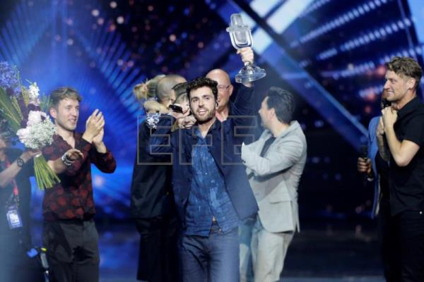 Netherlands wins Eurovision Song Contest, Spain comes in 22nd